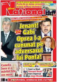 pag 01 mic14 Rasfoieste editia tiparita a ziarului NATIONAL