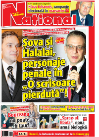 pag 01 mic5 Rasfoieste editia tiparita a ziarului NATIONAL