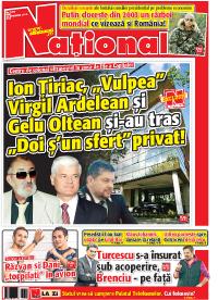 pag 01 mic11 Rasfoieste editia tiparita a ziarului NATIONAL