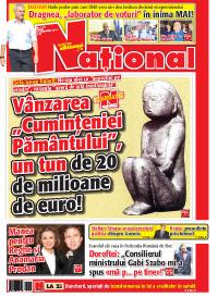 pag 01mic3 Rasfoieste editia tiparita a ziarului NATIONAL