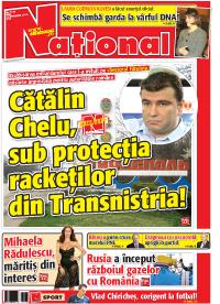 pag 01mic4 Rasfoieste editia tiparita a ziarului NATIONAL