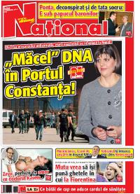 pag 01 mic13 Rasfoieste editia tiparita a ziarului NATIONAL