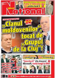 pag 01 mic22 Rasfoieste editia tiparita a ziarului NATIONAL