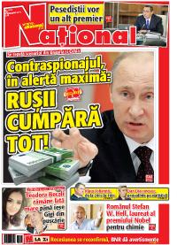 pag 01 mic7 Rasfoieste editia tiparita a ziarului NATIONAL