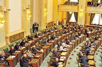 plen Senat 350x232 Senatorii au adoptat proiectul noului Cod Fiscal. Reactia premierului Ponta!
