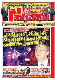 pag 01 mic page 001 6 Rasfoieste editia tiparita a ziarului NATIONAL