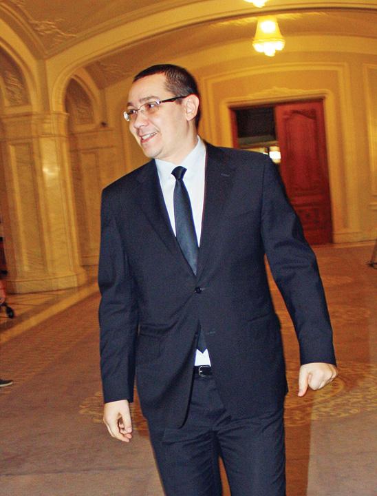 VICTOR PONTA RICA PETRESCU Ponta: In Parlament nu ne poate da jos PNL ul. Daca ne da jos DNA ul, asta e!