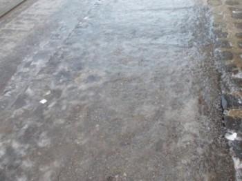 cod galben de polei 350x262 Avertizari de precipitatii mixte si polei