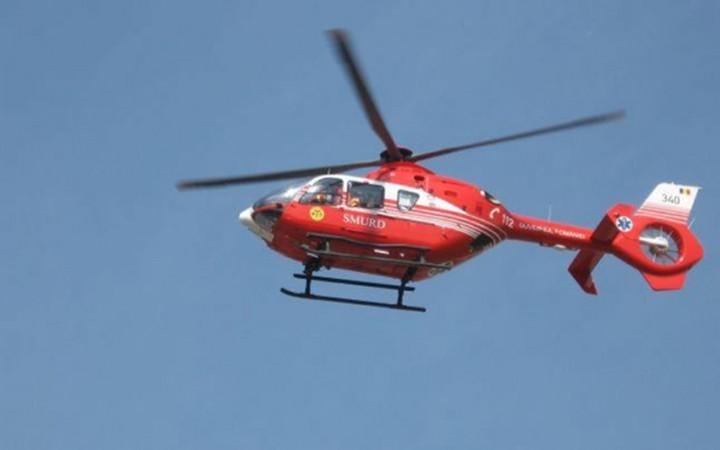 elicopter smurd1 720x450 Un avion cu doi oameni la bord s a prabusit langa Pascani