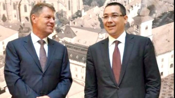 IOHANNIS SI PONTA 720x405 Concluzia lui Victor Ponta, dupa consultarile Presedinte   PSD: Avem nevoie de mai multa transparenta