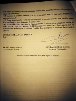 650289 10376267 966579853360043 2424992893805325272 n Bagati in sedinta de fani, Niculae si Sapunaru au semnat in alb cu Rapid! (FOTO)