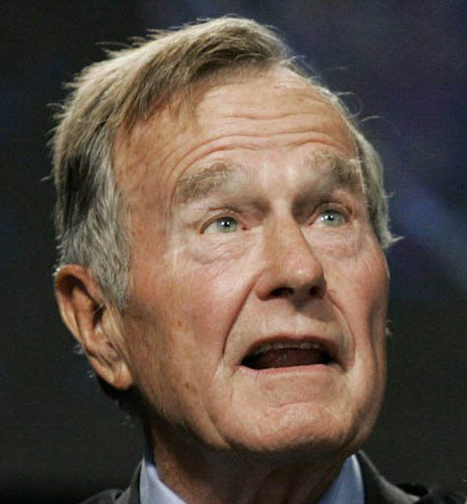George H. W. Bush Compania Bechtel, suspectata de mita  in cazul Autostrazii Transilvania