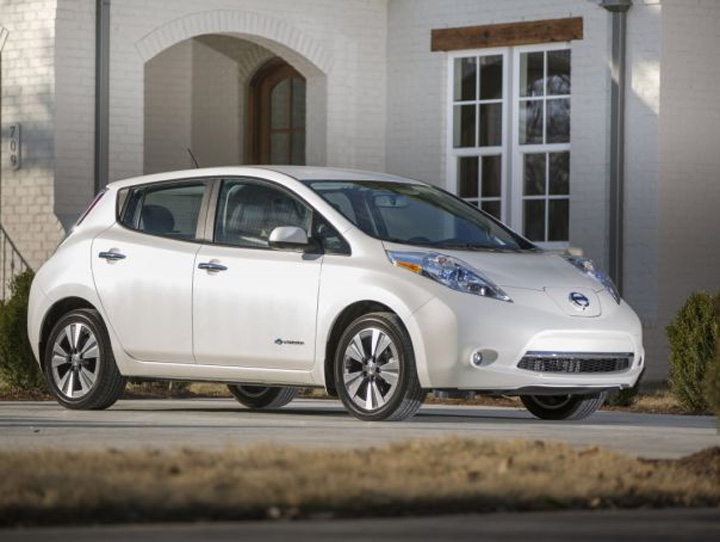 3 nissan leaf 84 miles of electric range Cele mai bune masini ecologice din lume