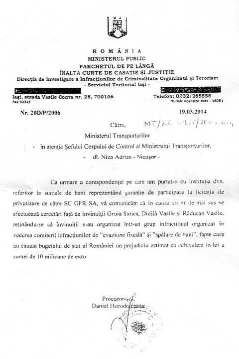 4 Daniel Horodniceanu, propulsat de Gruia Stoica la sefia DIICOT