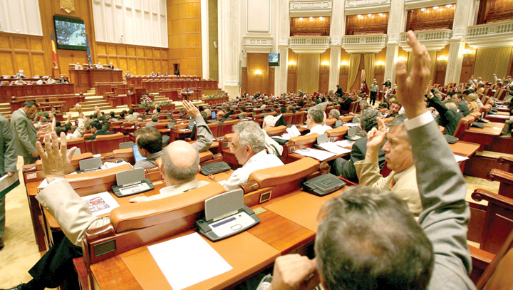 Camera Deputatilor votare1 Guvernul baga Parlamentul la apa