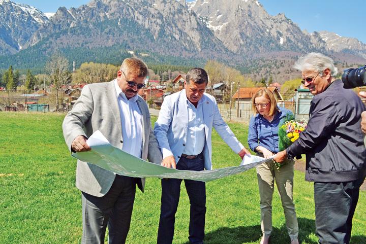 DSC 0562 Gabriela Szabo sustine construirea unei baze sportive la Busteni