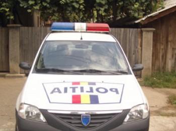 Masina politie 350x262 Peste 120 de tone de azotat de amoniu, confiscate dintr un depozit!