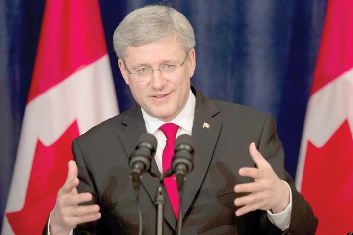 Stephen Harper premier Canada Romanii nu mai au nevoie de vize pentru Canada