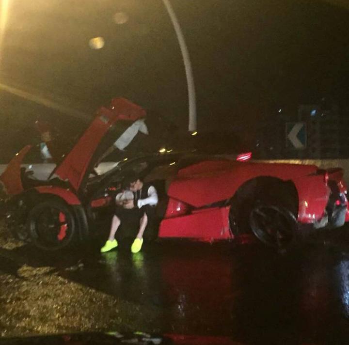 accident Cel mai scump accident rutier din China: un pusti teribilist a facut praf 3,5 milioane de dolari!