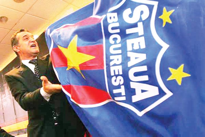 becali steag steaua emblema CSA verifica prejudiciul cauzat Stelei de Gigi Becali!