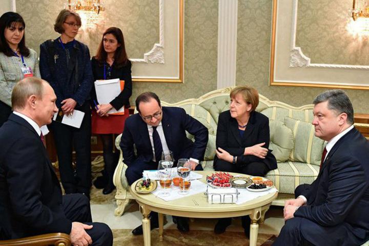 cei patru1 Acordul de la Minsk, supravegheat de vraci