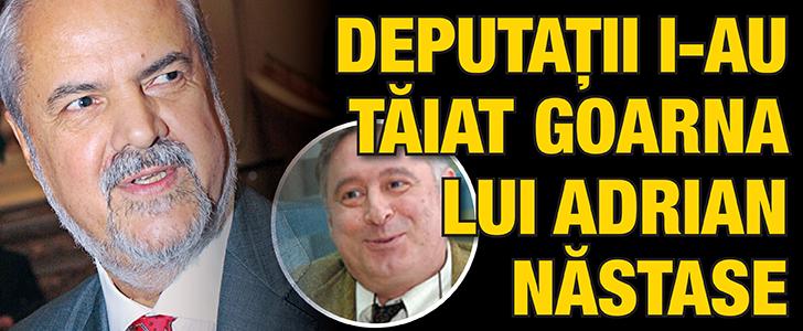 cub102 Deputatii i au taiat goarna lui Nastase
