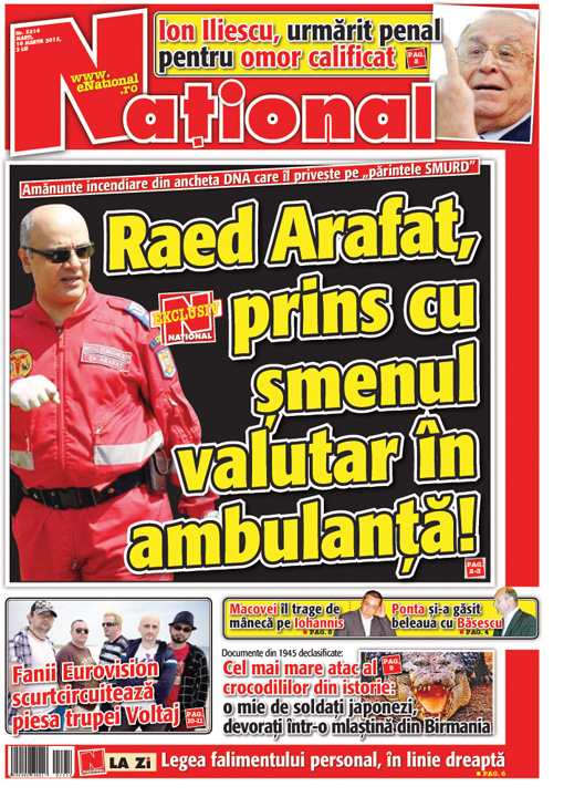 facsimil3 Raed Arafat, luat de procurori cu Ambulanta!