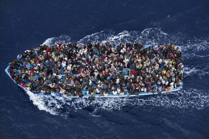 imigranti Marea Mediterana, cimitirul emigrantilor