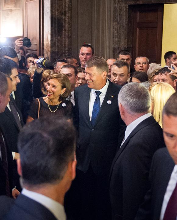 klaus carmen2 Presedintele Iohannis, vizita la Vatican