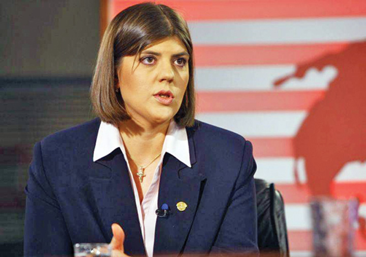 laura codruta kovesi Laura Codruta Kovesi, procuror sef european!