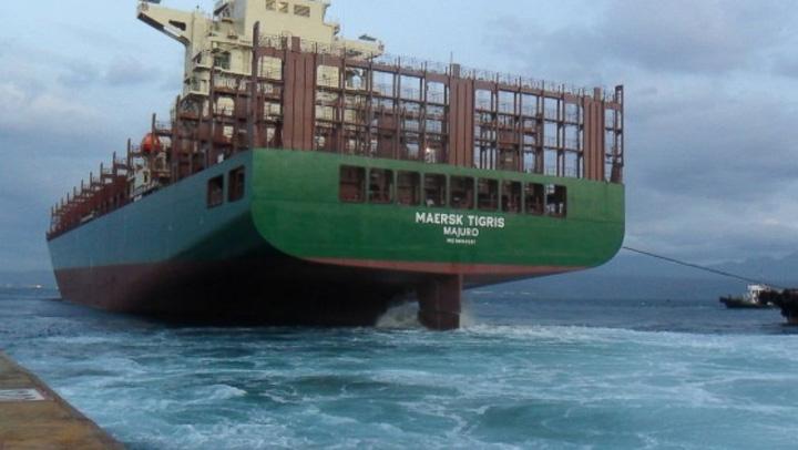 maersk Patru romani se afla la bordul cargoului capturat de iranieni