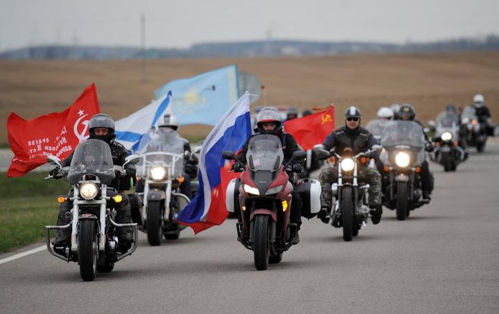 "moto2 Moscova cere explicatii dupa ce ""Lupii"" lui Putin au fost opriti sa intre in Polonia"