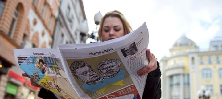 putin5 Putin si a tras un Charlie Hebdo anti Occident