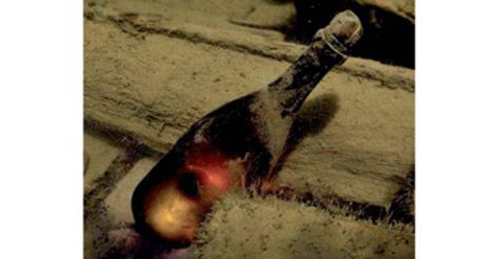 sampanie 160 de sticle de Veuve Clicquot, deschise dupa 170 de ani