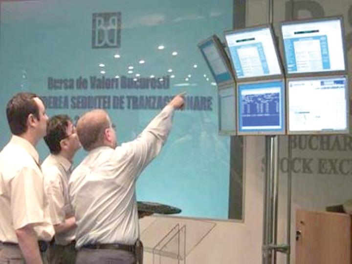 Bursa Bucuresti1 Actiunile de la Bursa de Valori Bucuresti, in crestere
