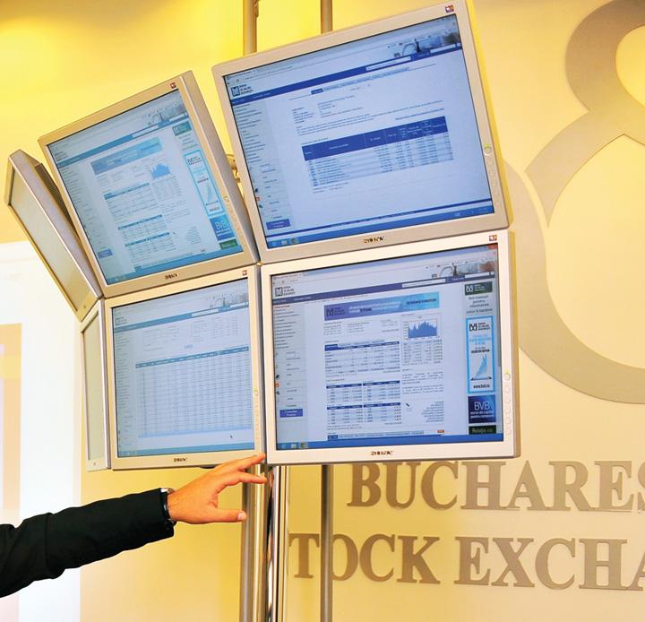 Bursa de Valori Bucuresti panou tranzactionare crop2 Pierderi la Bursa din cauza condamnarii lui Liviu Dragnea