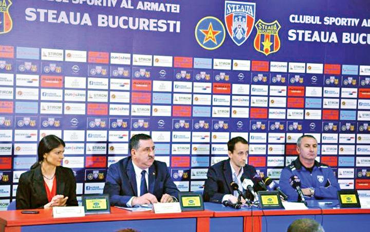 CSA Steaua george boroi CSA, in pozitie de tragere: Steaua suntem noi!
