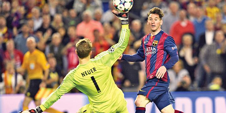 """Le Barca bat le Bayern 3 0 grace a Messi et Neymar """"Jas care""""!"""