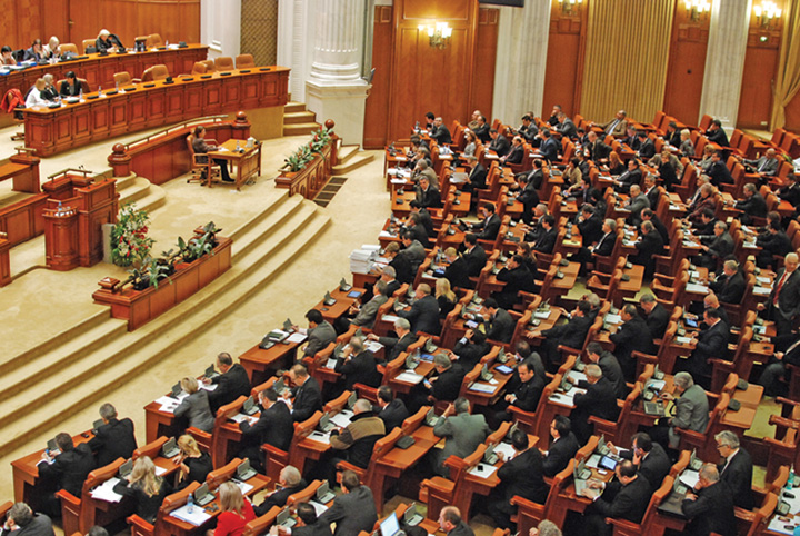 Parlament plen Narcis Pop 29 Aviz pozitiv in Parlament pentru referendumul pe Justitie