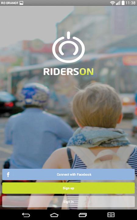 aplicatie RidersOn Cum faci bani cu smartphone ul prin magazine