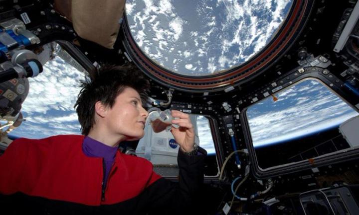 astronaut 1 Italienii nu se dezmint: primul expresso in spatiu
