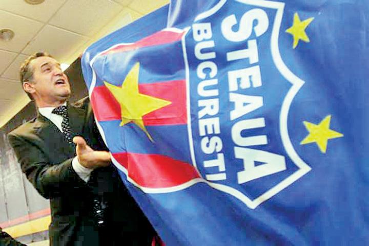 "becali steag steaua emblema Marca ""Steaua"" a ajuns la o valoare de 120.000 de euro"