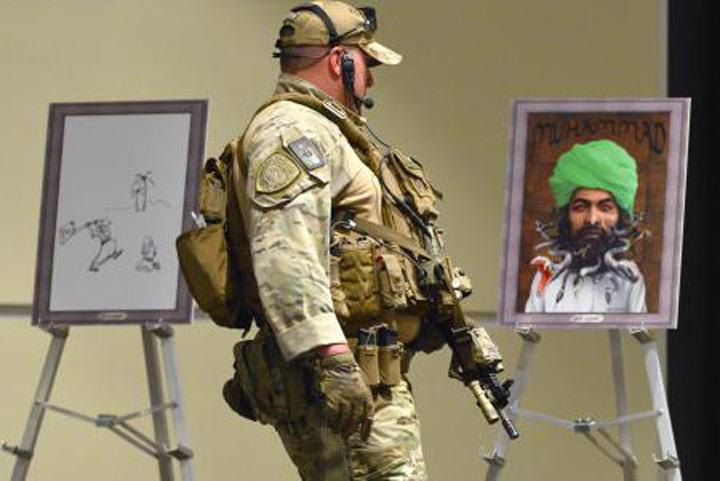 caricaturi ISIS, atac in Dallas!