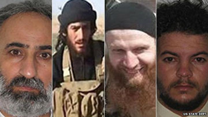 cei patru1 SUA pun la bataie 20 milioane de dolari pe capetele a patru lideri ISIS