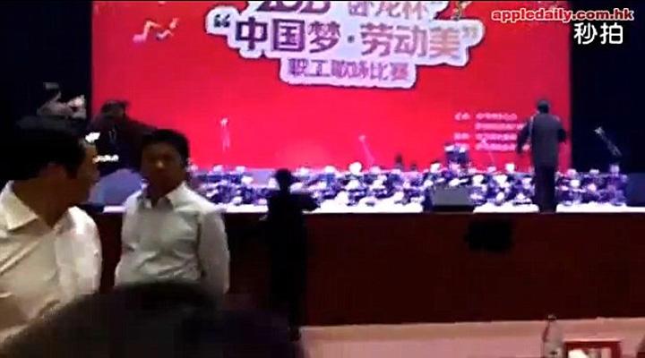 cor2 O scena s a prabusit cu 80 de coristi in provincia Guizhou