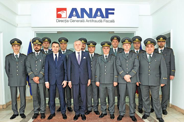 """gelu diaconu cu sefii """"Target"""" de un miliard pentru ANAF"""