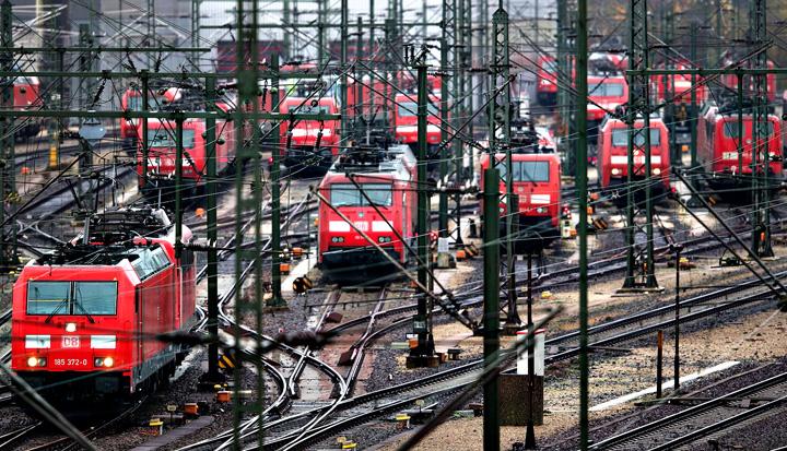 greva Germania, paralizata de o mega greva a mecanicilor de locomotiva