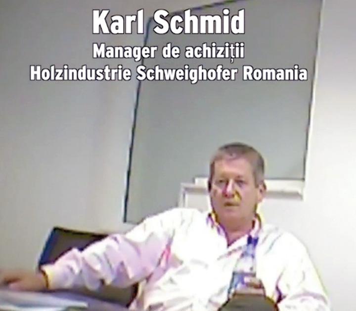 manager firma austriaca lemn furat Schweighofer Ministerul Mediului controleaza lemnul taiat ilegal de la Schweighofer