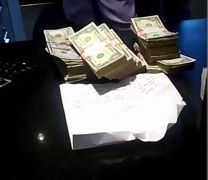 money A spart o banca, apoi a pus pe Instagram imagini din timpul jafului! L au prins in 30 de minute