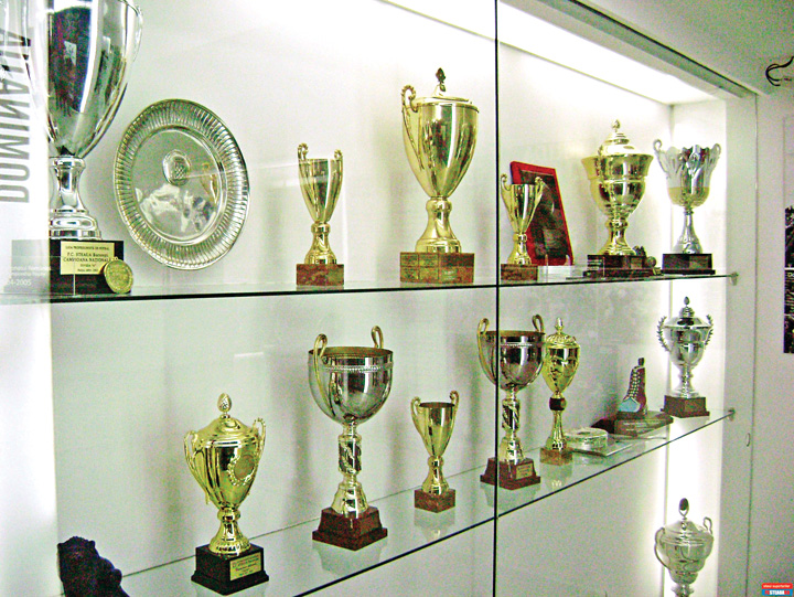 muzeu 1 CSA Steaua isi face muzeu. FCSB ul lui Becali a pierdut toate trofeele!